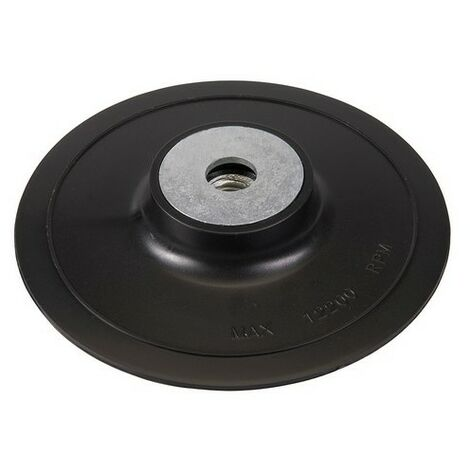 """main image of """"Silverline 853034 ABS Fibre Disc Backing Pad 100mm"""""""