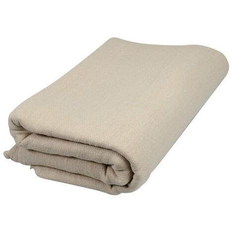 Silverline 633700 Stairs Dust Sheet Cotton Fibre 7.2 x 0.9m