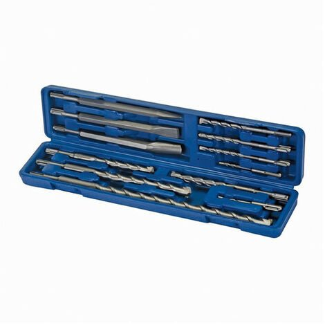 Silverline 633750 SDS Plus Masonry Drill & Steel Set 12pce 12pce