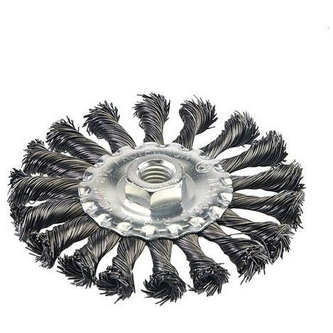 """main image of """"Silverline 656640 Steel Twist-Knot Wheel 115mm"""""""