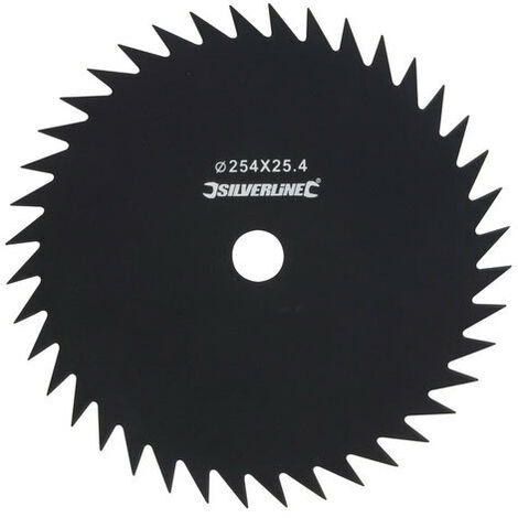 Silverline 675319 Brush Cutter Blade 40 Tooth 25.4mm dia bore