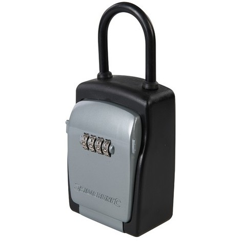 Silverline 692437 4-Digit Combination Car Key Safe 75 x 170 x 50mm