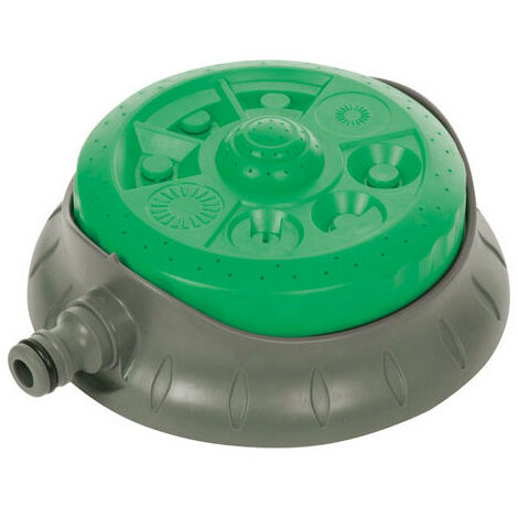 Silverline 718693 8-Pattern Dial Sprinkler 140mm dia