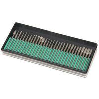 Silverline 722878 Diamond Burr Set 30pce 3.17mm shank