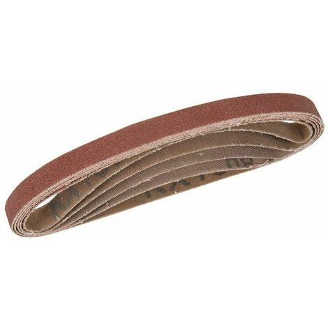 Silverline 726614 Sanding Belts 10 x 330mm 5pk 40 Grit