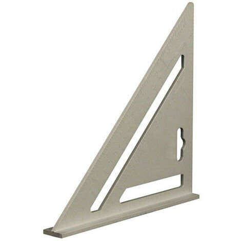 Silverline 734110 Heavy Duty Aluminium Roofing Rafter Square 185mm