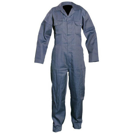 "Silverline 763602 Boilersuit Navy M 100cm (40"")"