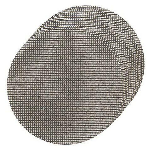 Silverline 783379 Hook & Loop Mesh Discs 225mm 10pk 4 x 40G, 4 x 80G, 2 x 120G