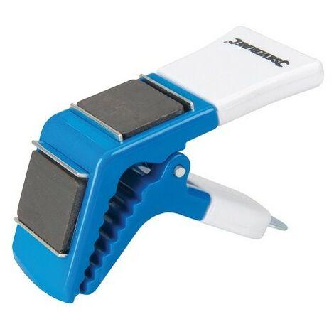Silverline 794871 Magnetic Paint Brush Holder 2 Magnets