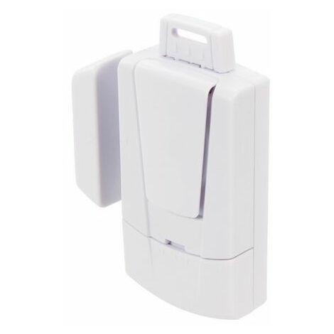 Silverline 818708 Magnetic Door & Window Alarm 3 x 1.5V LR44
