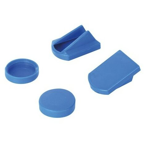 Silverline 829976 Replacement Clamp Pads Set 4pce
