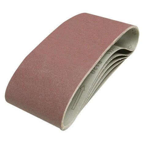 Silverline 846448 Sanding Belts 100 x 610mm 5pk 120 Grit