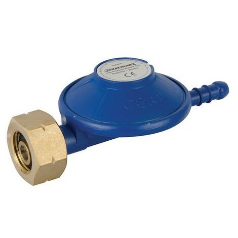Silverline 853229 Low Pressure Butane Gas Regulator 30mbar