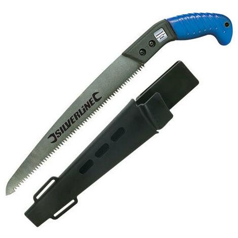 Silverline 868611 Pruning Saw with Sheath 275mm Blade