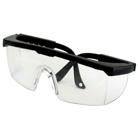 """main image of """"Silverline 868628 Adjustable Safety Glasses Clear"""""""
