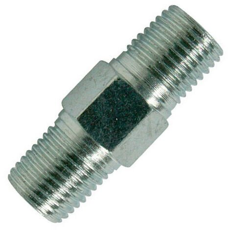 """Silverline 868632 Air Line Equal Union Connector 6mm (1/4"""") BSPT"""