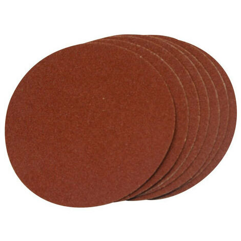 Silverline 918544 Self Adhesive Sanding Discs 150mm 10pk 60 Grit