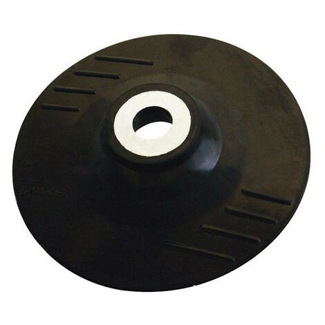 Silverline 941859 Rubber Backing Pad 115mm