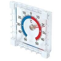 Silverline 985719 Indoor/Outdoor Stick-On Thermometer -50 Degrees to +50 Degrees C