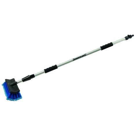 Silverline - Brosse de nettoyage télescopique 1,32 - 2,14 m