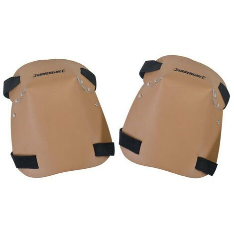 Silverline CB08 Knee Pads Leather One Size