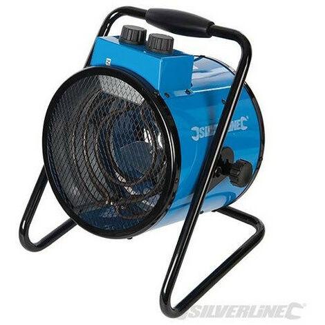 Silverline - Chauffage électrique soufflant d'atelier 2 kW - 300316 - TNT