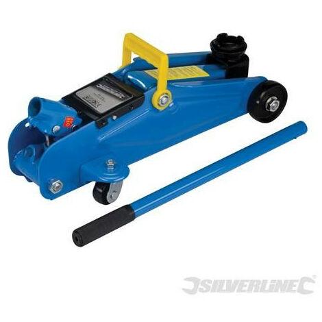 Silverline - Cric rouleur hydraulique 2 Tonnes - 633935