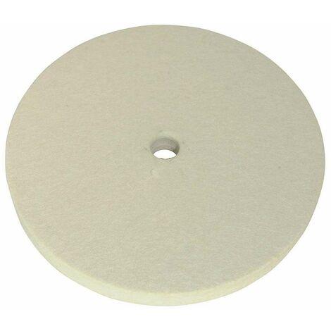 Silverline Disco Trapo Tela Cosido 150 Mm