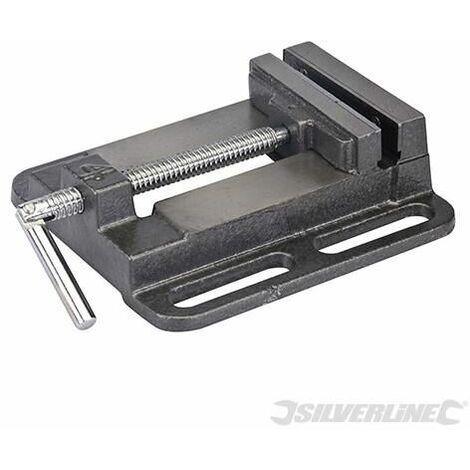 Silverline Drill Press Vice 100mm 292674