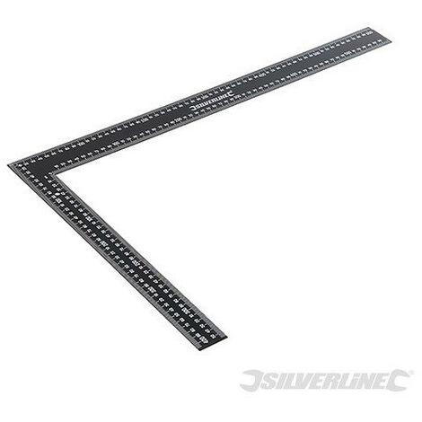Silverline - Équerre de charpentier en acier - 600 x 400 mm