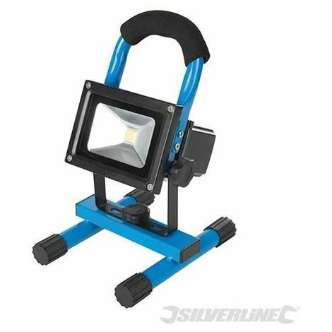 Silverline LED Rechargeable Site Light 5W UK 946572