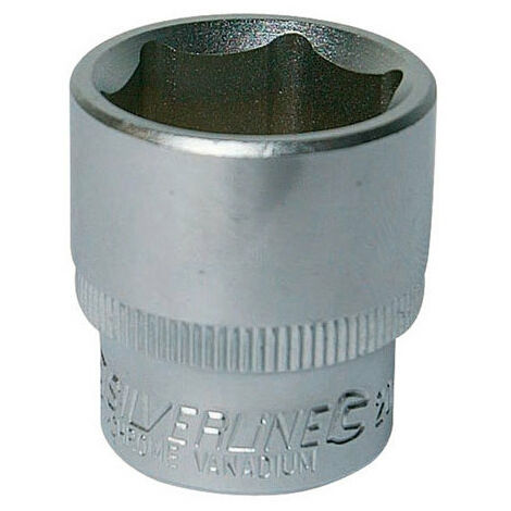 """Silverline Metric Hex Sockets 3/8"""" Square Drive All Sizes Standard 6mm-21mm"""