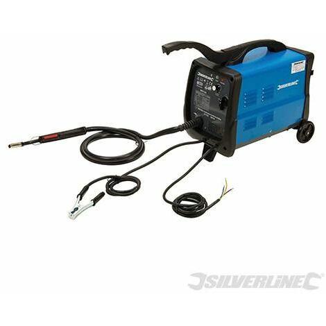 Silverline MIG/MAG Combination Gas/No Gas Welder 30-135A 380736