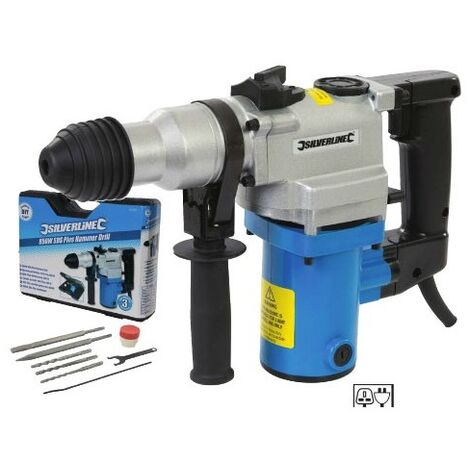 Silverline - Perforadora de cincel SDS-Plus 850W