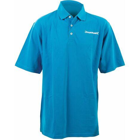 "Silverline Poly Cotton Polo Shirt - Large (107cm / 42"")"