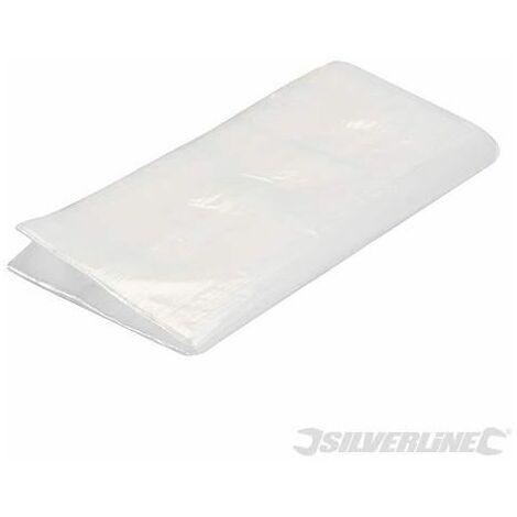 Silverline Polythene Dust Sheet 3.6 x 2.7m (12' x 9') Approx 633539