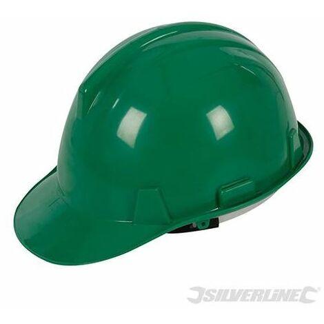 Silverline Safety 6 Point Safety Helmet Work Hard Hat Bump Cap Impact Hat EN 397