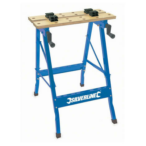 """main image of """"Silverline TB01 Portable Workbench 100kg"""""""