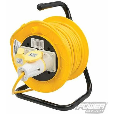 Cable Reel 16A 110V Freestanding - 2-Gang 25m (868878)