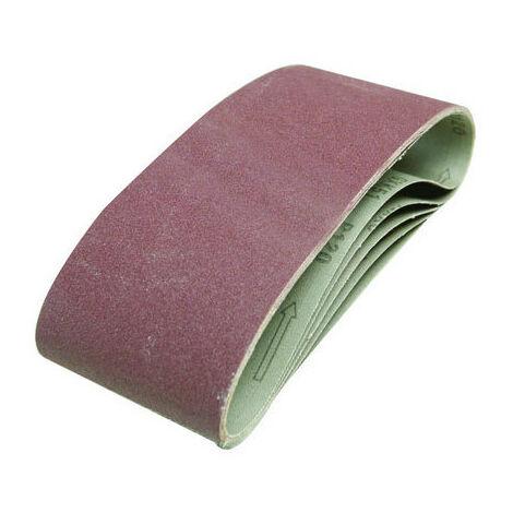 Silverline Tools - Sanding Belts 100 x 610mm 5pk - 40 Grit