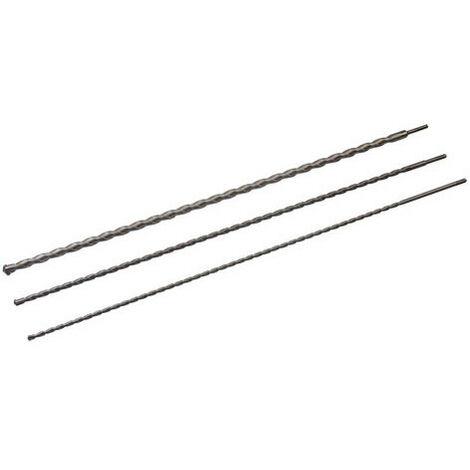 Silverline 125628 SDS Plus Masonry Drill Bit Set 3pk 1000mm