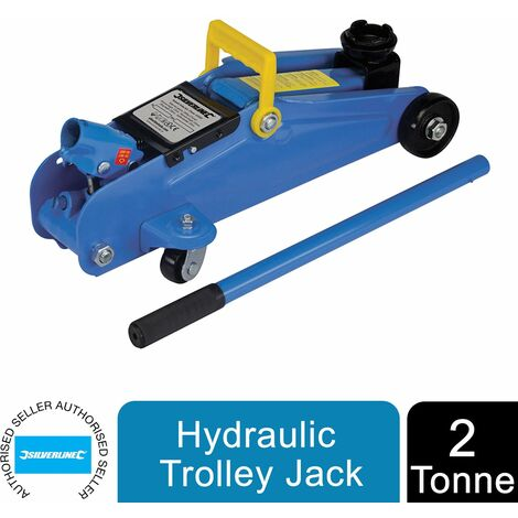 """main image of """"Silverline Trolley Jack Hydraulic 2000kg 2 Tonne For Cars 633935"""""""