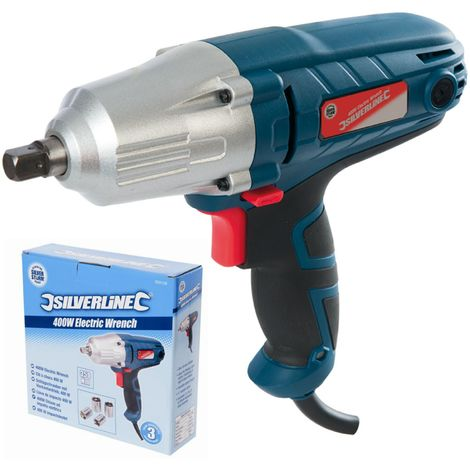Silverstorm 400w Electric Impact Drill Wrench 1 2 Inch Dr Tool With Sockets