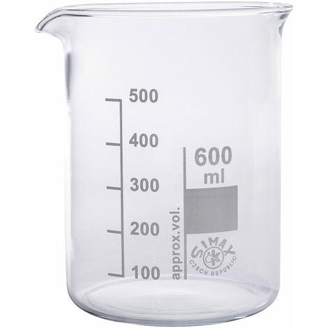 """main image of """"Simax Low Form Beakers 600ml Pack 10"""""""