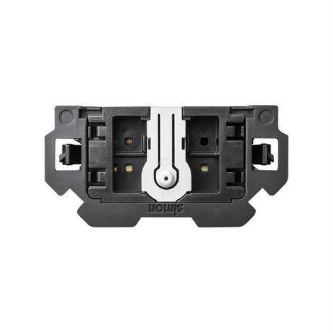 SIMON 100 - Interruptor-Conmutador pulsante 16AX 10000211-039