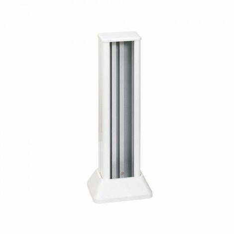 Simon 500 Cima Minicolumna Aluminio Blanco 1 Cara 6 Elementos blanco. 52550113-030