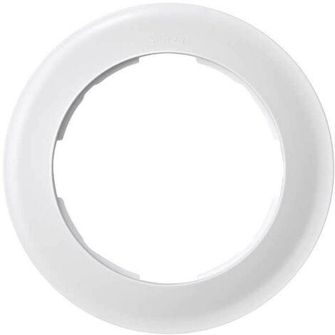 Simon 88 | Marco 1 elemento redondo blanco SIMON 88610-30
