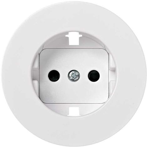 Simon 88 | Tapa enchufe 2p+t schuko con seguridad blanco SIMON 88041-60