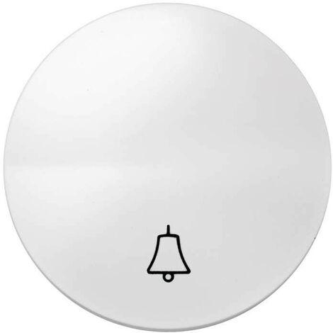 Simon 88 | Tecla campana blanca SIMON 88017-30