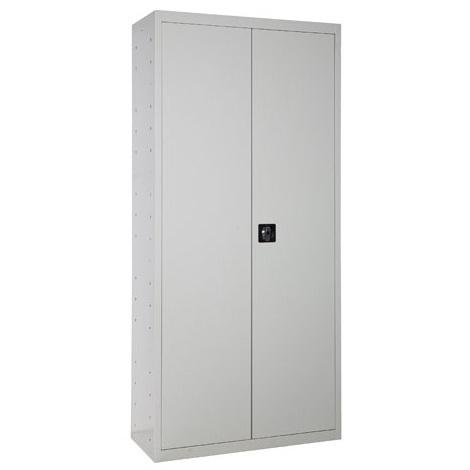 SimonRack - Armoire de vestiaire MULTI-USAGE 1800X800X400 mm (2 portes,4 tablettes) livré DÉMONTÉ